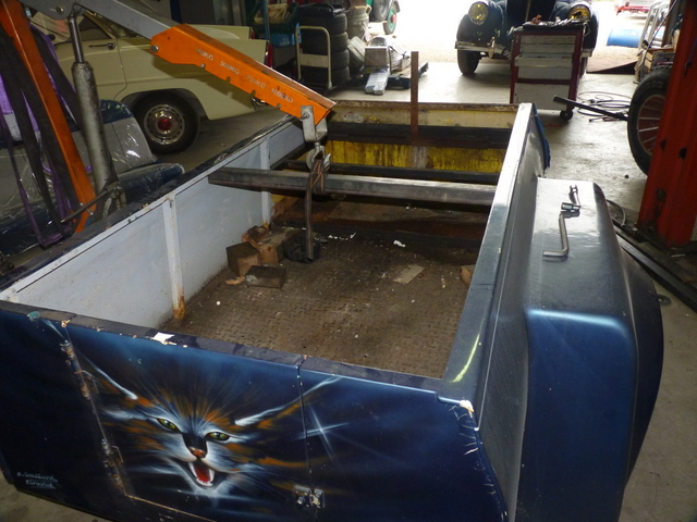 Restauration Renault Colorale 4x4 Ch 226 Ssis Cabine