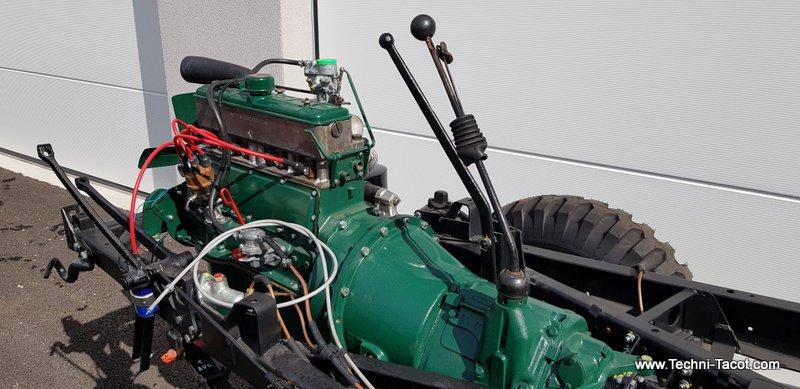 remontage châssis moteur renualt r2087militaire
