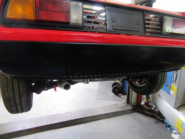 pot d'échappement Lancia Monte Carlo 1976