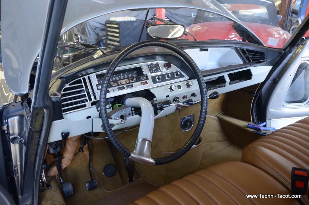 Volant DS 21 M - Pallas - salon 1967