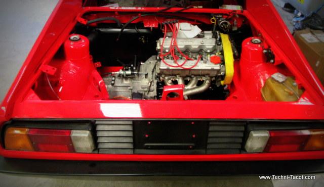 Moteur Lancia Monte Carlo 1976