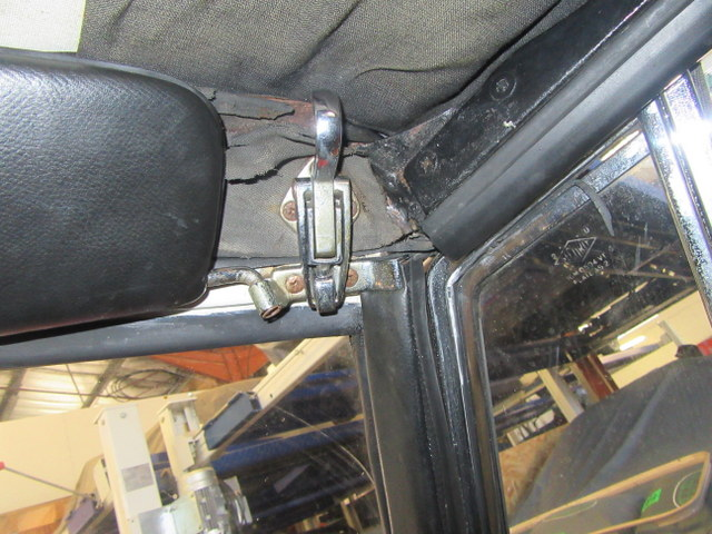 Garniture 404 peugeot cabriolet