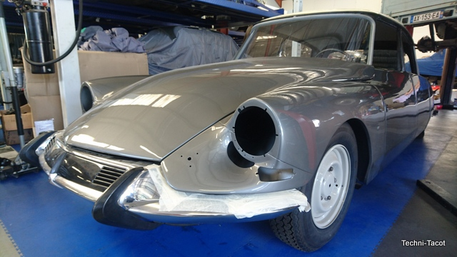 Carrosserie DS 21 M – Pallas – salon 1967