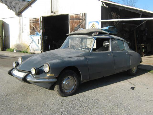Restauration DS 21 M - Pallas - salon 1967