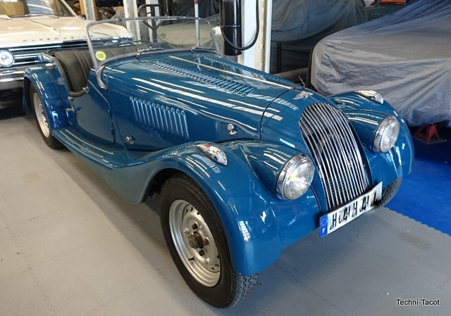 voiture morgan '56 Boris Vian