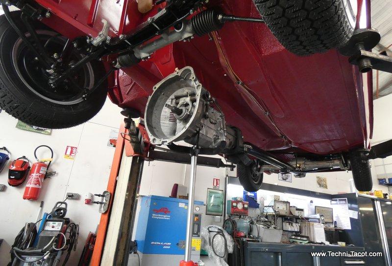 boite de vitesses peugeot 404 injection cabriolet