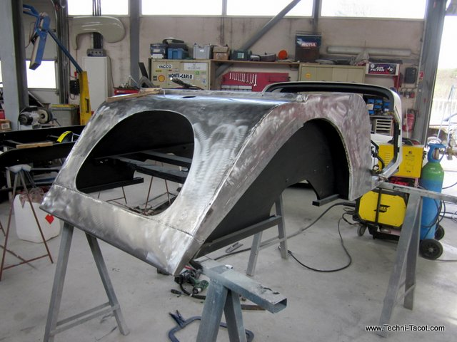 carrosserie chassis tolerie morgan56