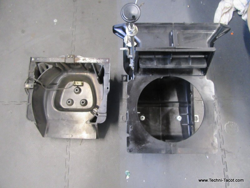 chauffage ventilation peugeot 404