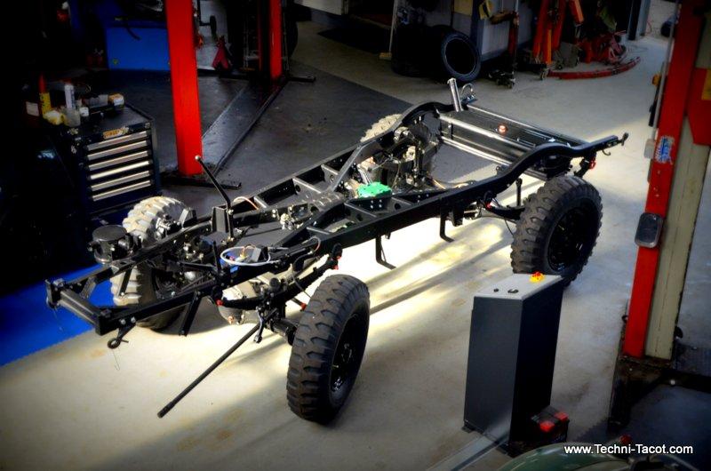 châssis renault R2087 goelette 4x4