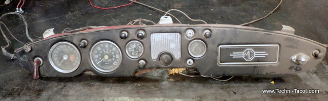 Tableau de bord MG MGA 56