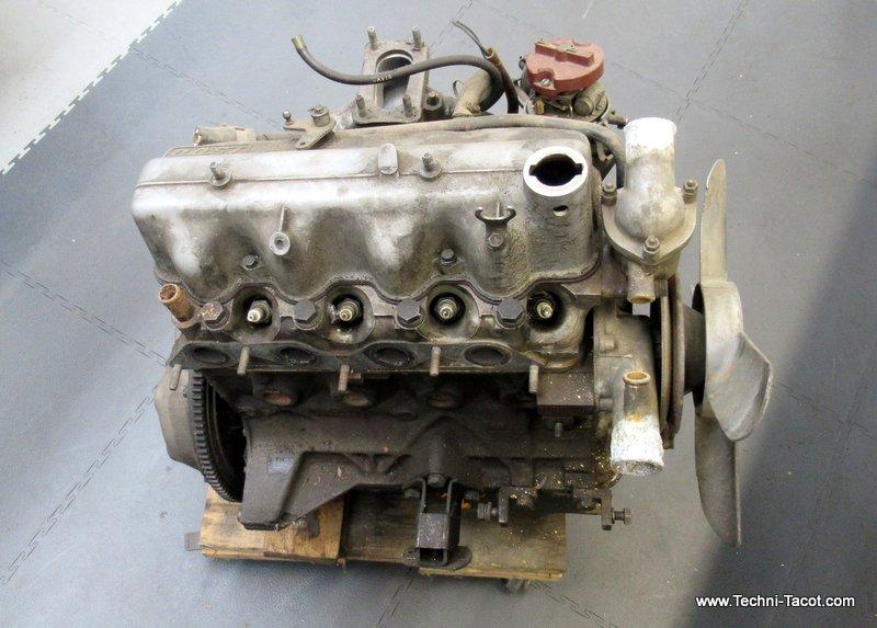 démontage moteur fiat 1500 cabriolet 118