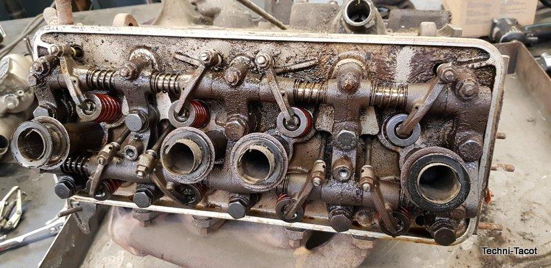 démontage moteur peugeo t 404 injection peugeot