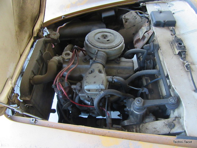 Moteur Fiat 1500 cabriolet