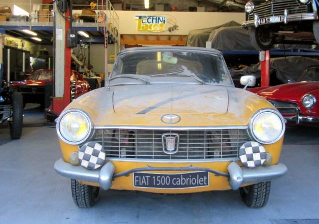 Restauration Fiat 1500 cabriolet