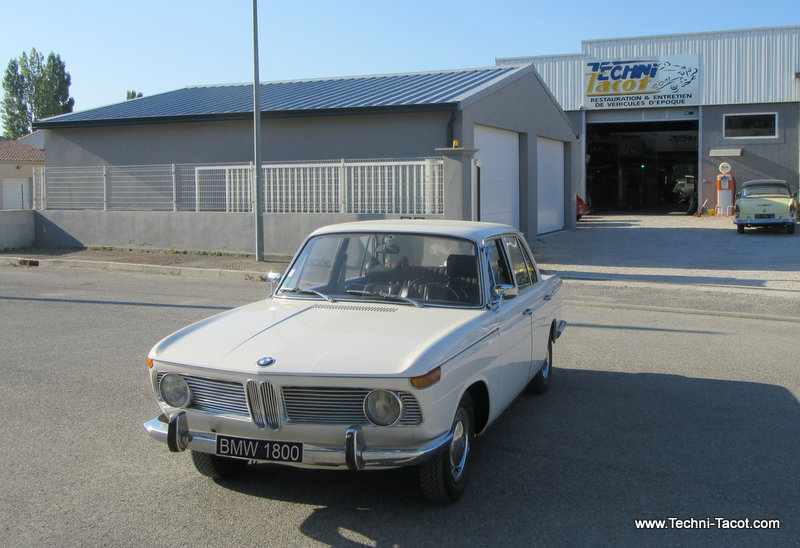 BMW 1800 restauration reparation