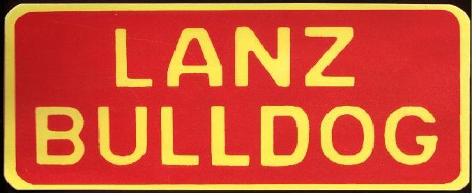 logo moteur lanz bulldog