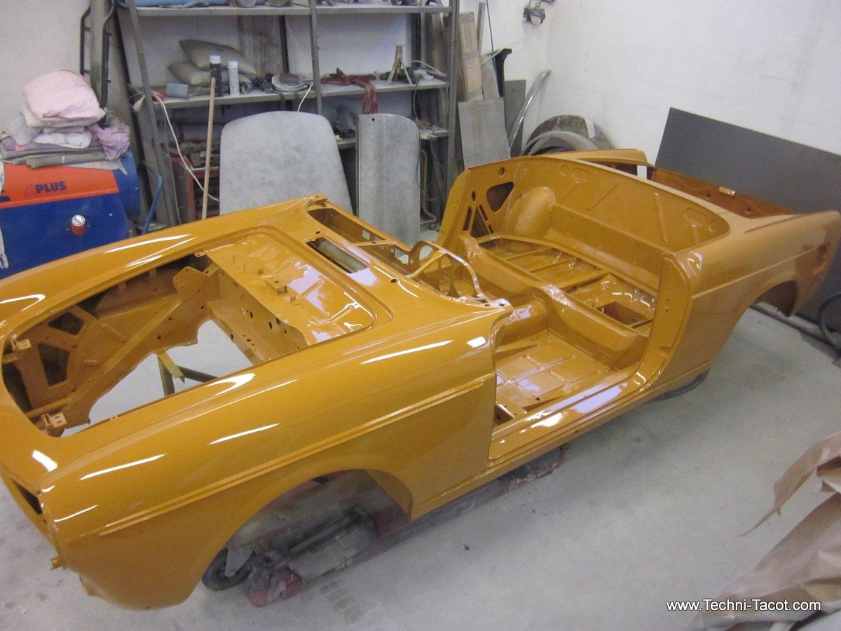 mise en peinture fiat 1500 cabriolet