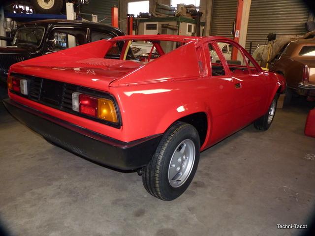 restauration Lancia Monte Carlo 1976