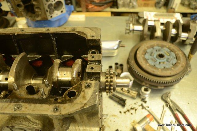 moteur morgan triumph tr3