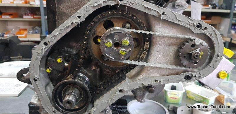 moteur peugeot 404 injection restauration