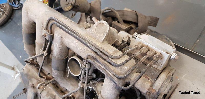 démontgae moteur peugeo t 404 injection peugeot