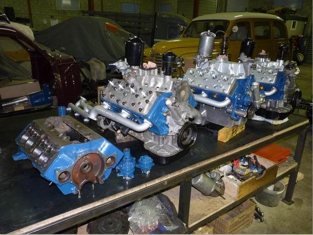 moteur v8 ancien