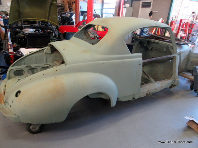 restauration peugeot 203 coupé