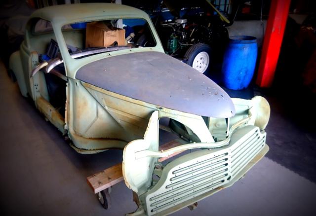 restauration peugeot 203 coupé