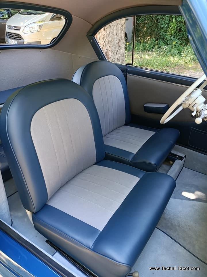 Peugeot 203 coupé restauration complète