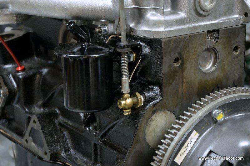 remontage assemblage moteur fiat 1500 cabriolet 118