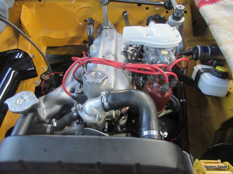 REMONTAGE moteur fiat 1500 cabriolet