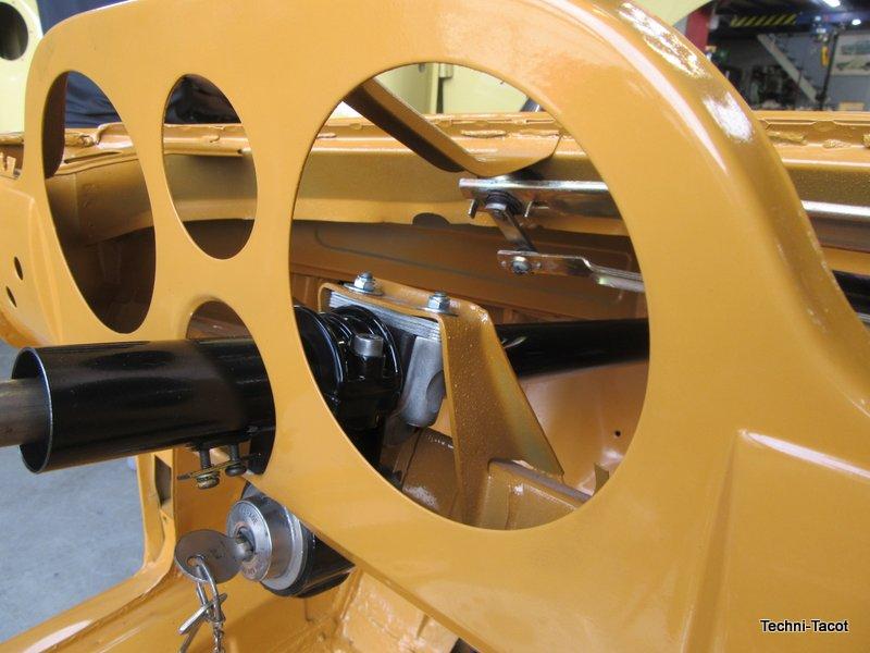 reparation boitier direction fiat 1500 cabriolet
