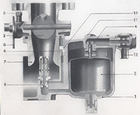 moteur solex vertical