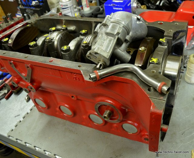 moteur B20 injection Volvo P1800