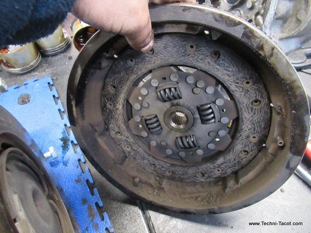 demontage moteur 1800 golf 1 VW