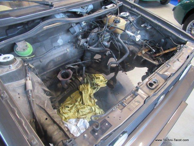 golf vw cabriolet restauration moteur