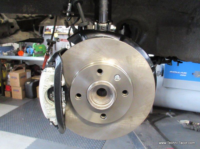 refection système de freinage vw golf cabriolet techni tacot