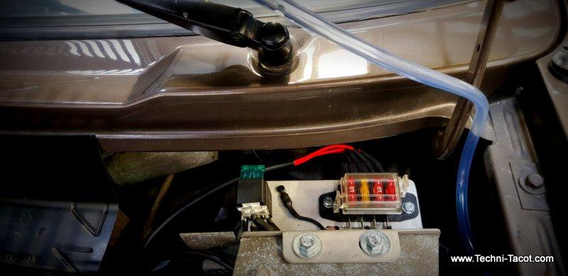 Electricité golf cabriolet 1800