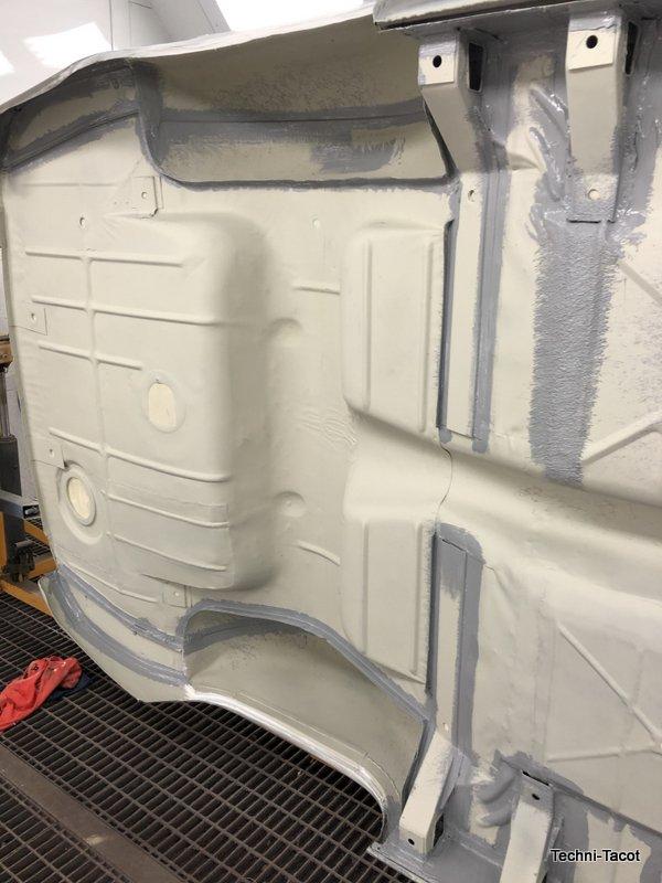 soubassement planchers longeron tolerie carrosserie ford vedette cabriolet