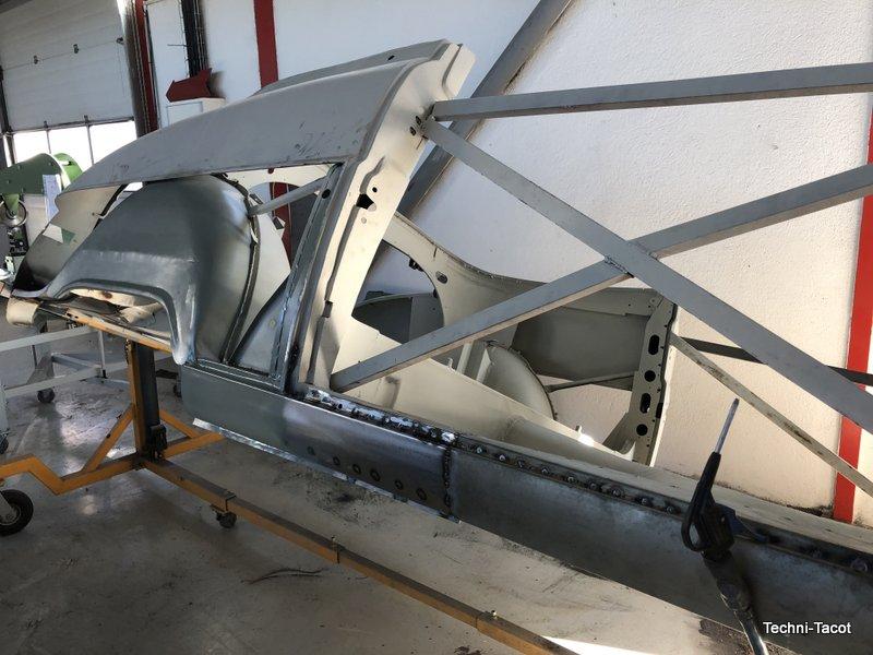 construction tolerie carrosserie ford vedette cabriolet