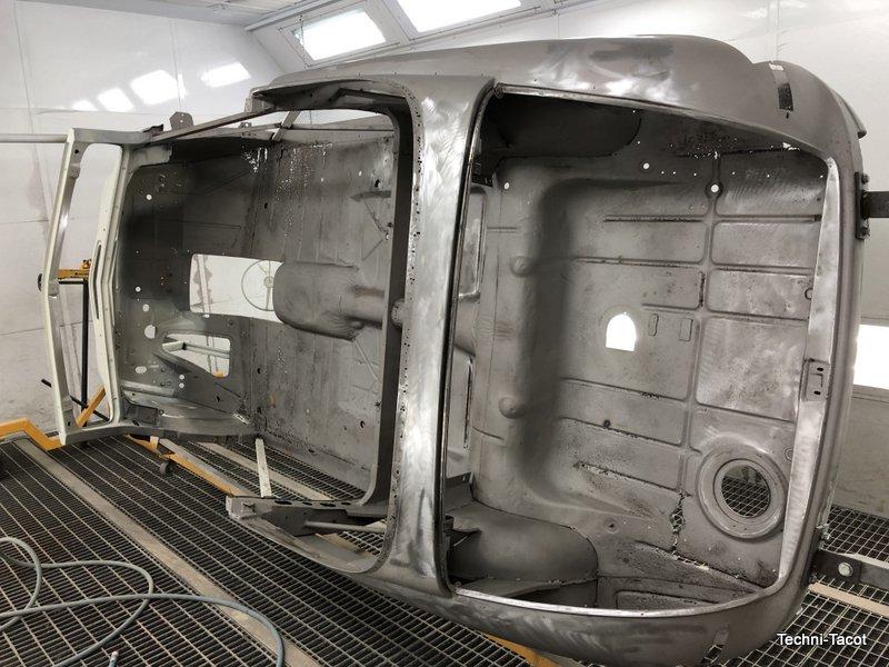 décapage carrosserie ford vedette cabriolet