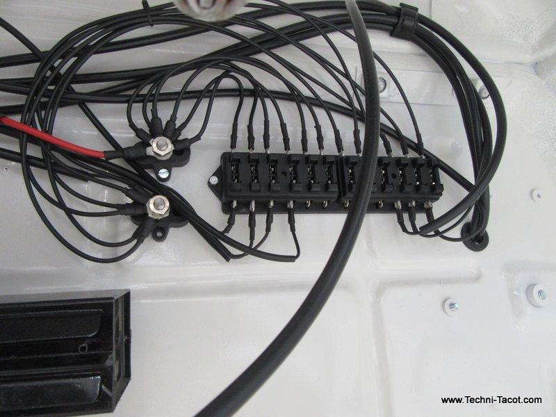 faisceau électrique ford vedette cabriolet
