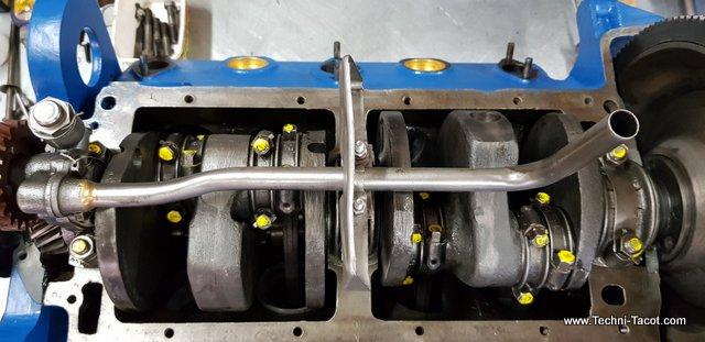 Ford vedette reconstruction moteur v8
