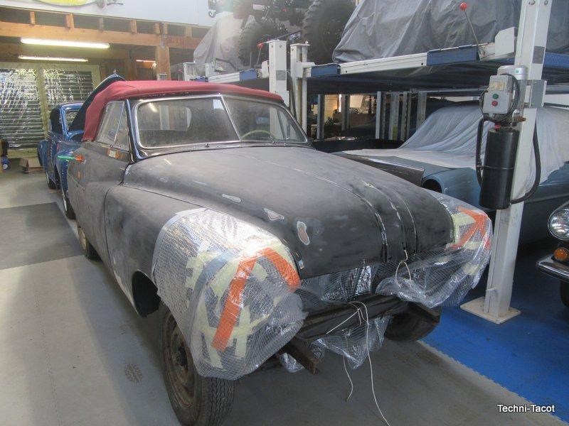 restauration ford vedette cabriolet techni tacot