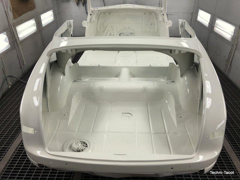 Laquage peinture ford vedette carrosserie tolerie