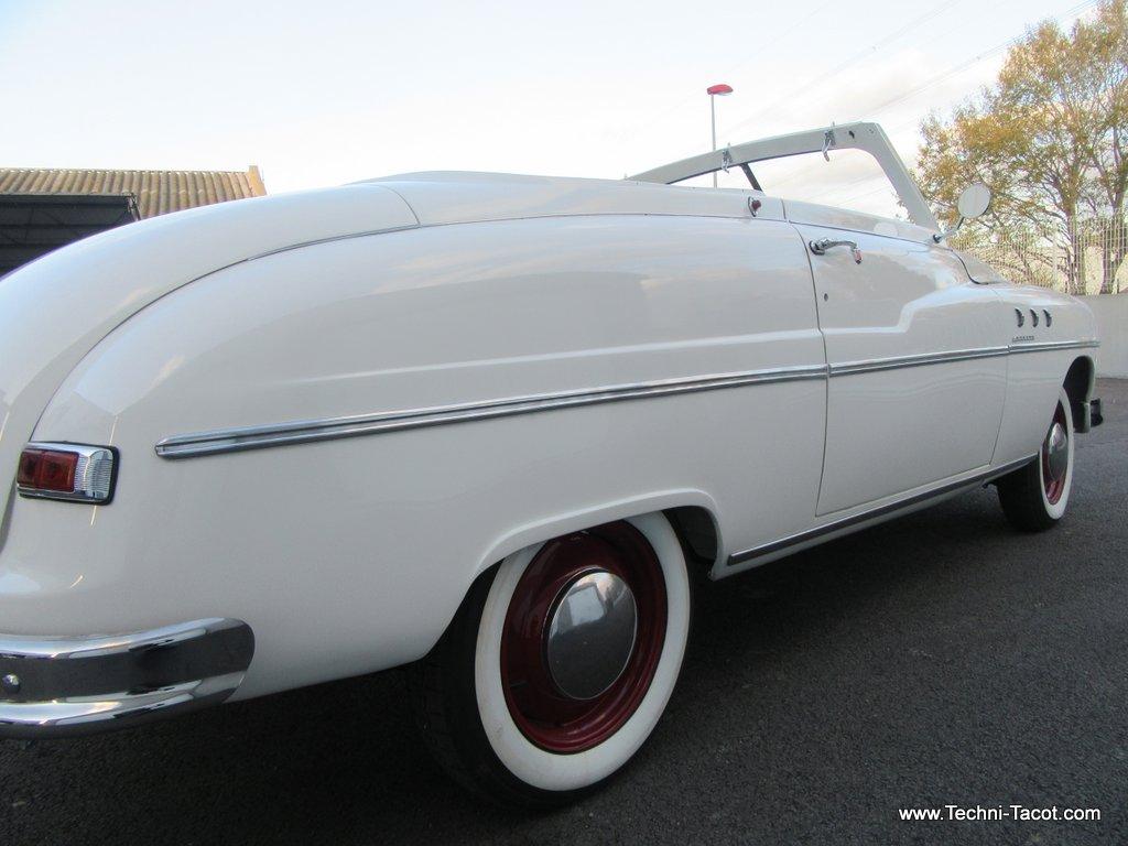 restauration cabriolet ford vedette 1952 techni tacot