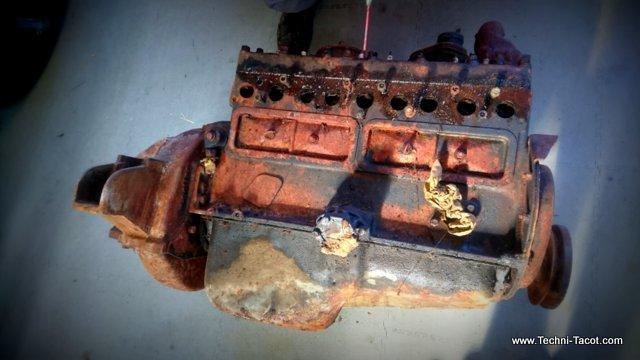 bloc moteur 6 cylindres dodge wc 51