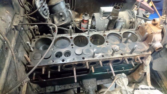 moteur 6 cylindres dodge wc 51