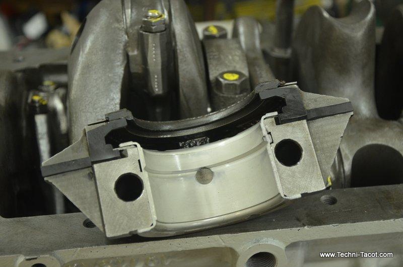 moteur refait 6 cylindres dodge wc 51