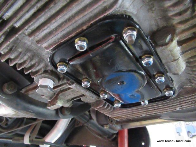vidange moteur porsche 356